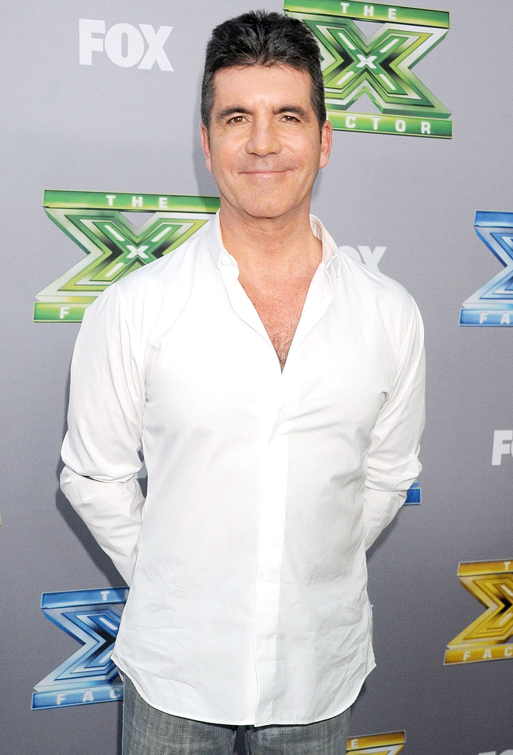 The X Factor creator used his production company, Syco Entertainment, to produce the smash competition series. Both Cowell and Sony Music Entertainment own 50 percent of the company, which later produced another successful franchise: America's Got Talent .