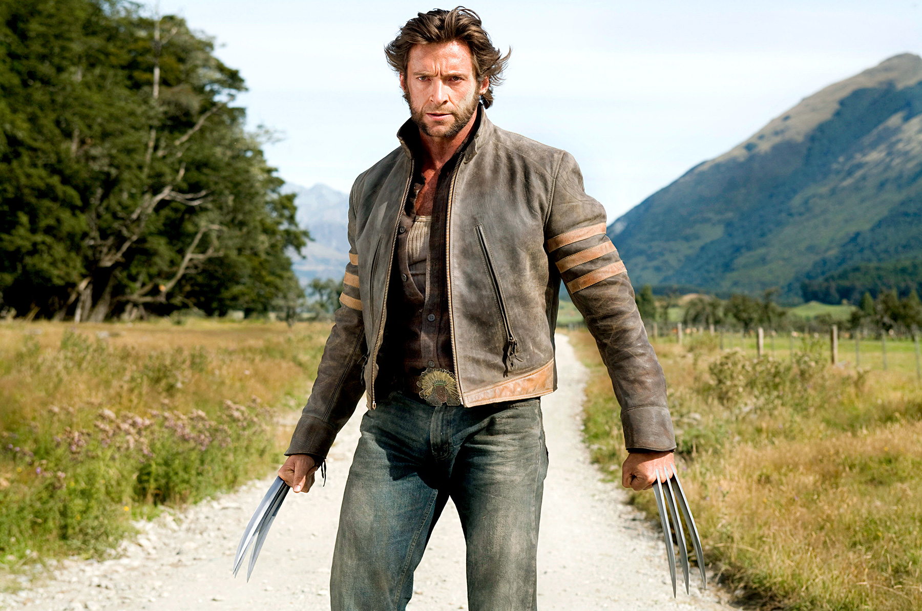 Hugh Jackman ate 6,000 calories a day to bulk up for his fifth stint as the X-Men's Wolverine in 2013's The Wolverine . He continued his role as the clawed crusader in 2014's X-Men: Days of Future Past .