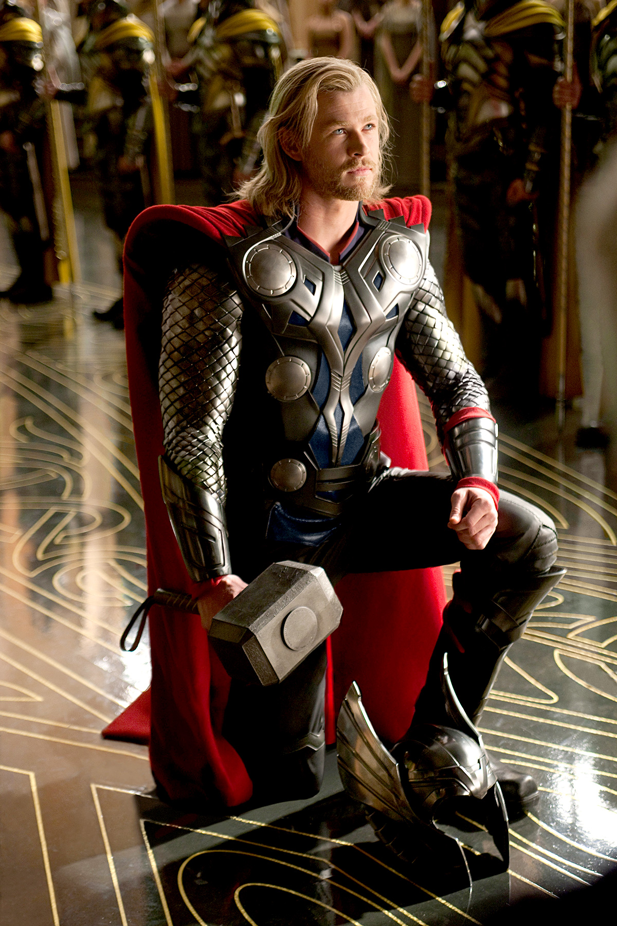 Star Trek actor Chris Hemsworth discovered his inner Norse warrior 2011's Thor, continuing as the superhero in 2012's The Avengers and 2013's Thor: The Dark World.