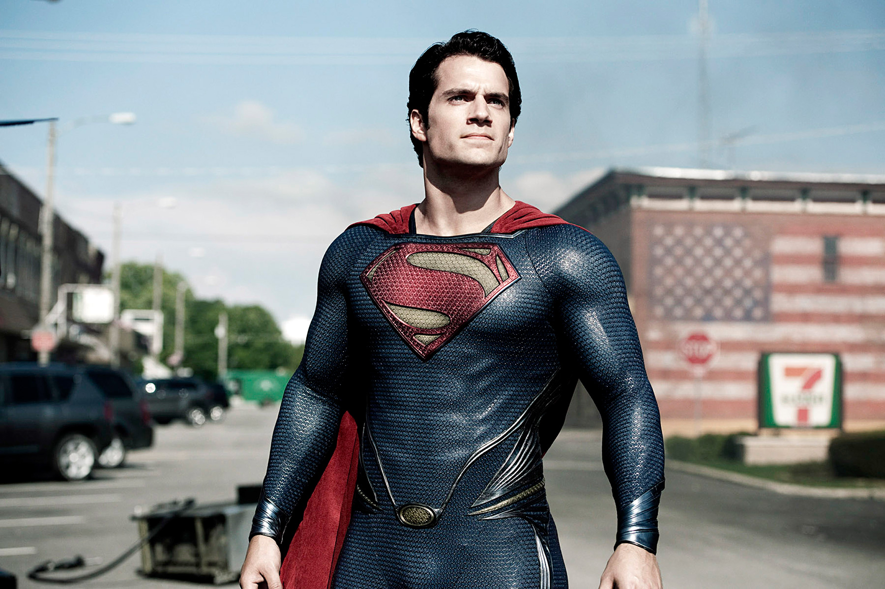 It's a bird, it's a plane, it's The Tudors star Henry Cavill!