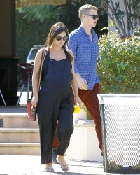 Rachel Bilson and Hayden Christensen stop by Lowe's in Los Angeles