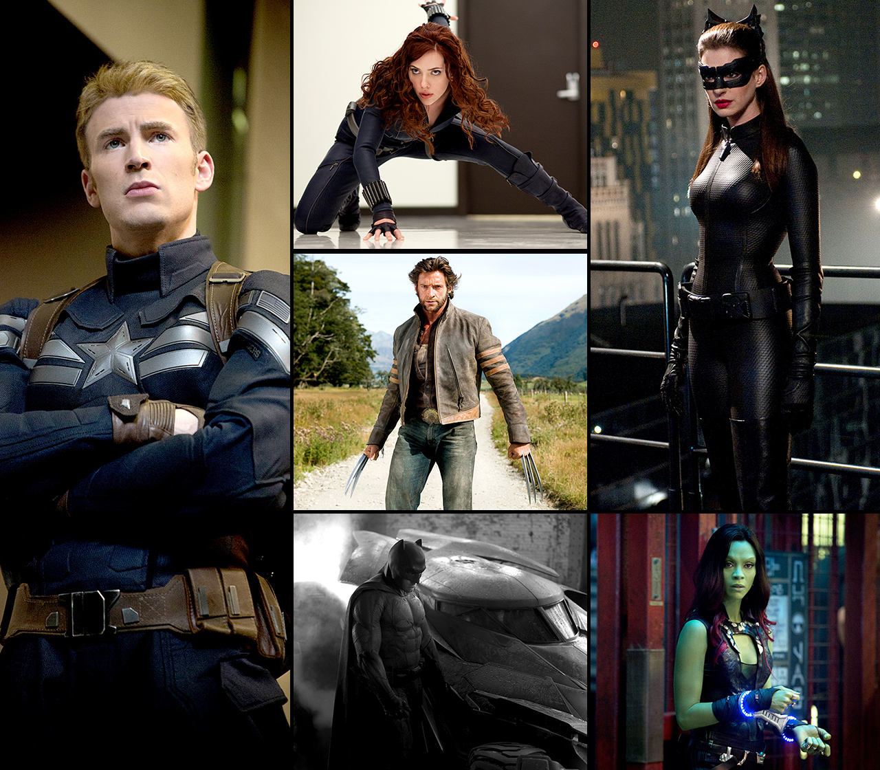 To the rescue! Some of Hollywood's biggest stars have donned tights and capes to save the day as beloved superheroes -- see celebs including Ben Affleck, Chris Evans, and Gwyneth Paltrow as superheroes!