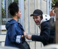 Rob Pattinson and FKA Twigs photos in Paris
