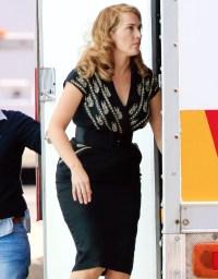 """Kate Winslet on the set of """"The Dressmaker"""""""