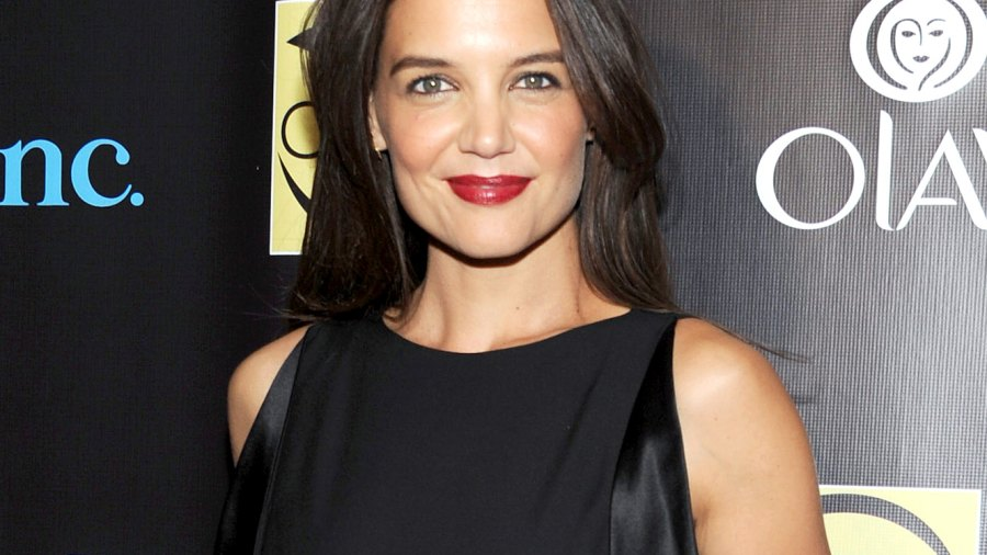 Katie Holmes at the Skin Cancer Foundation Gala on Oct. 21, 2014.