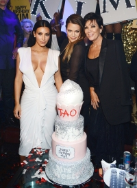 Kim, Kris, and Khloe