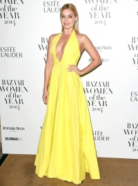 Margot Robbie at the Harpers Bazaar Women of the Year Awards on Nov. 4