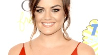Lucy Hale at the 2014 Teen Choice Awards on Aug. 10.