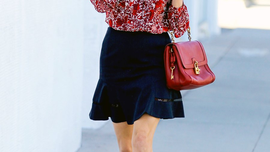 Reese Witherspoon is seen on November 05, 2014 in Los Angeles.