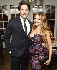 Joe Manganiello and Sofia Vergara at a celebratory dinner on Nov. 12.