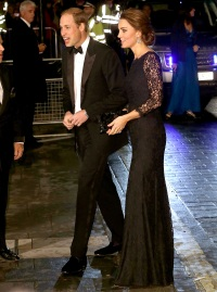 Prince William and Kate Middleton at the The Royal Variety Performance