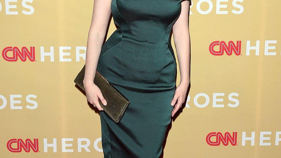 Christina Hendricks at the 2014 CNN Heroes: An All-Star Tribute.