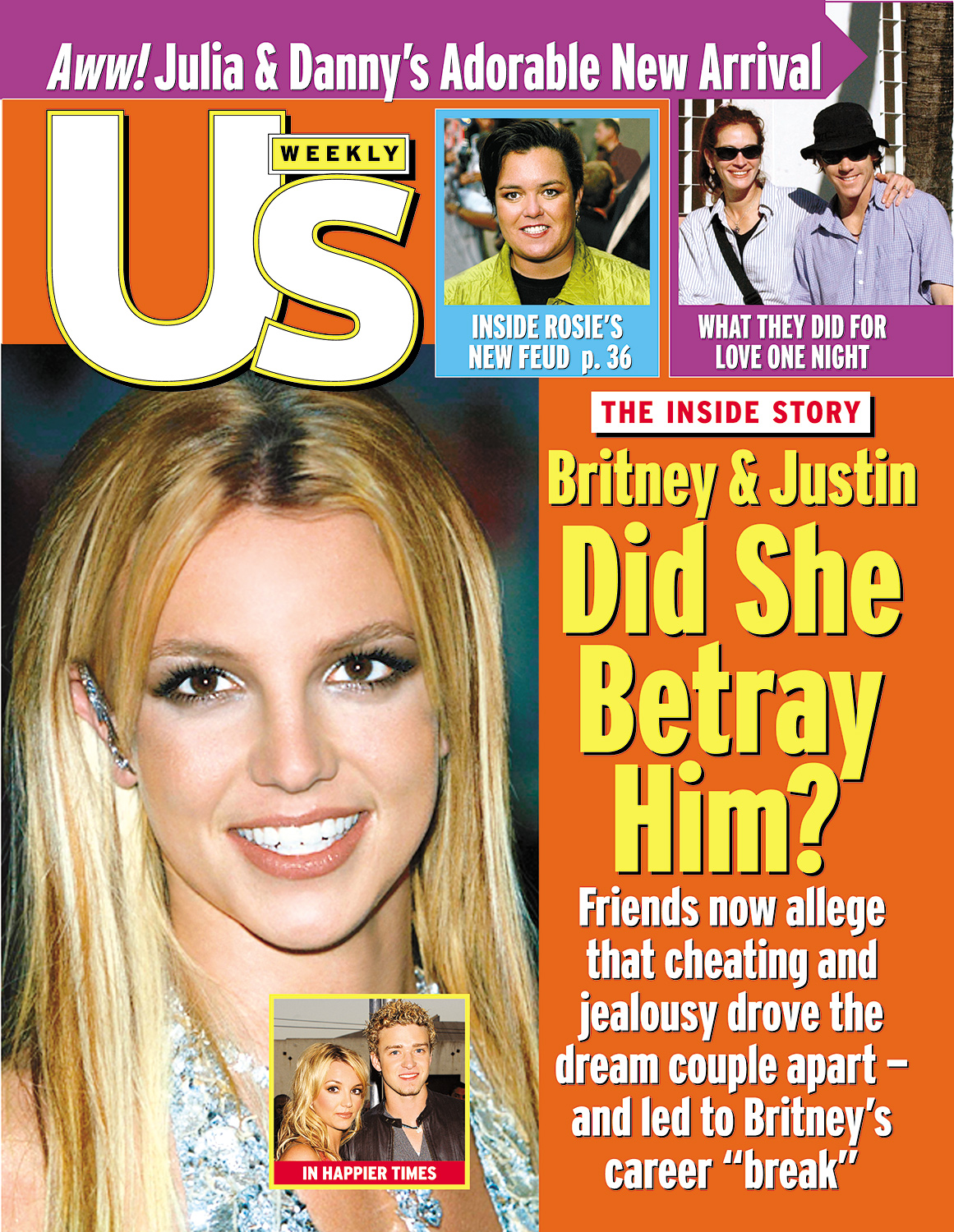 Image result for britney spears justin break up magazine