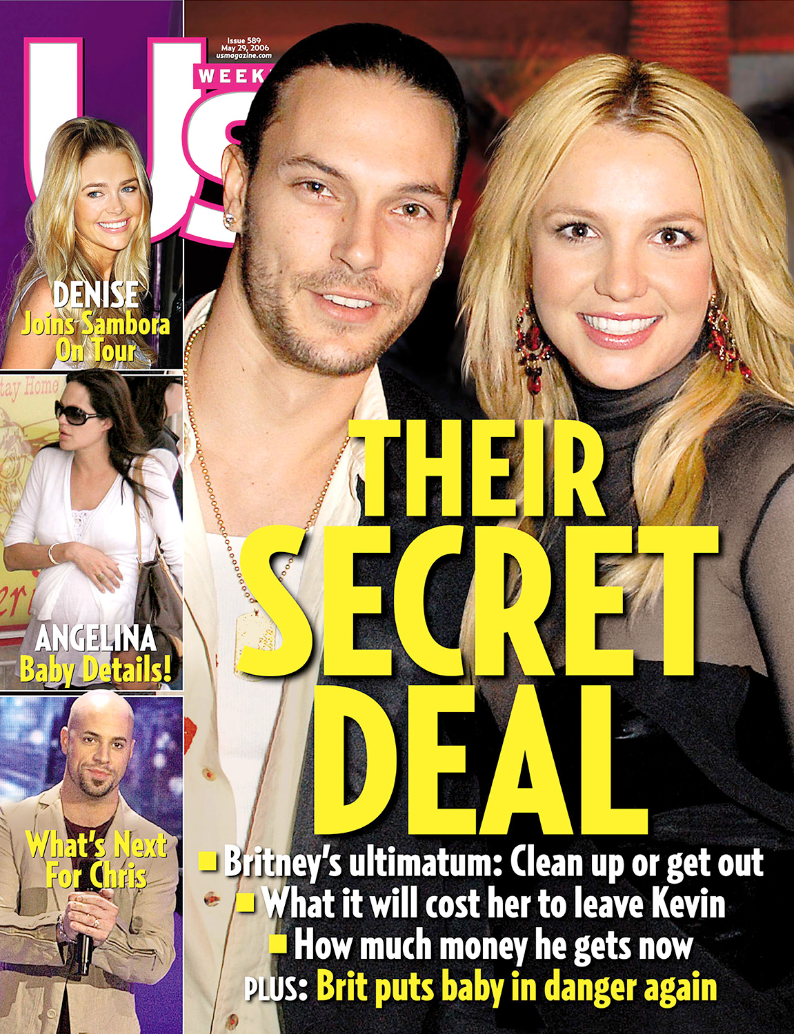 Their Secret Deal -- Britney's Ultimatum: Clean Up or Get Out