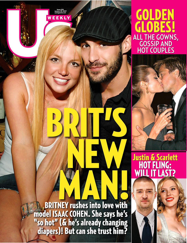 Brit's New Man!