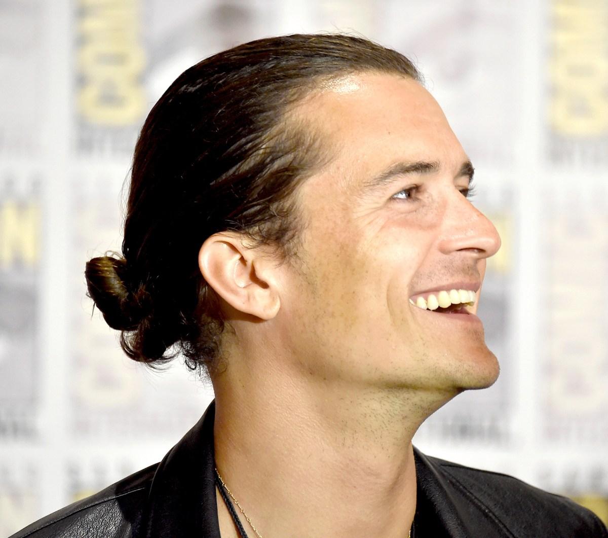 Best Celebrity Man Buns Us Weekly