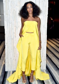 Solange Knowles at the Art Basel Miami Beach on Dec. 3, 2014.