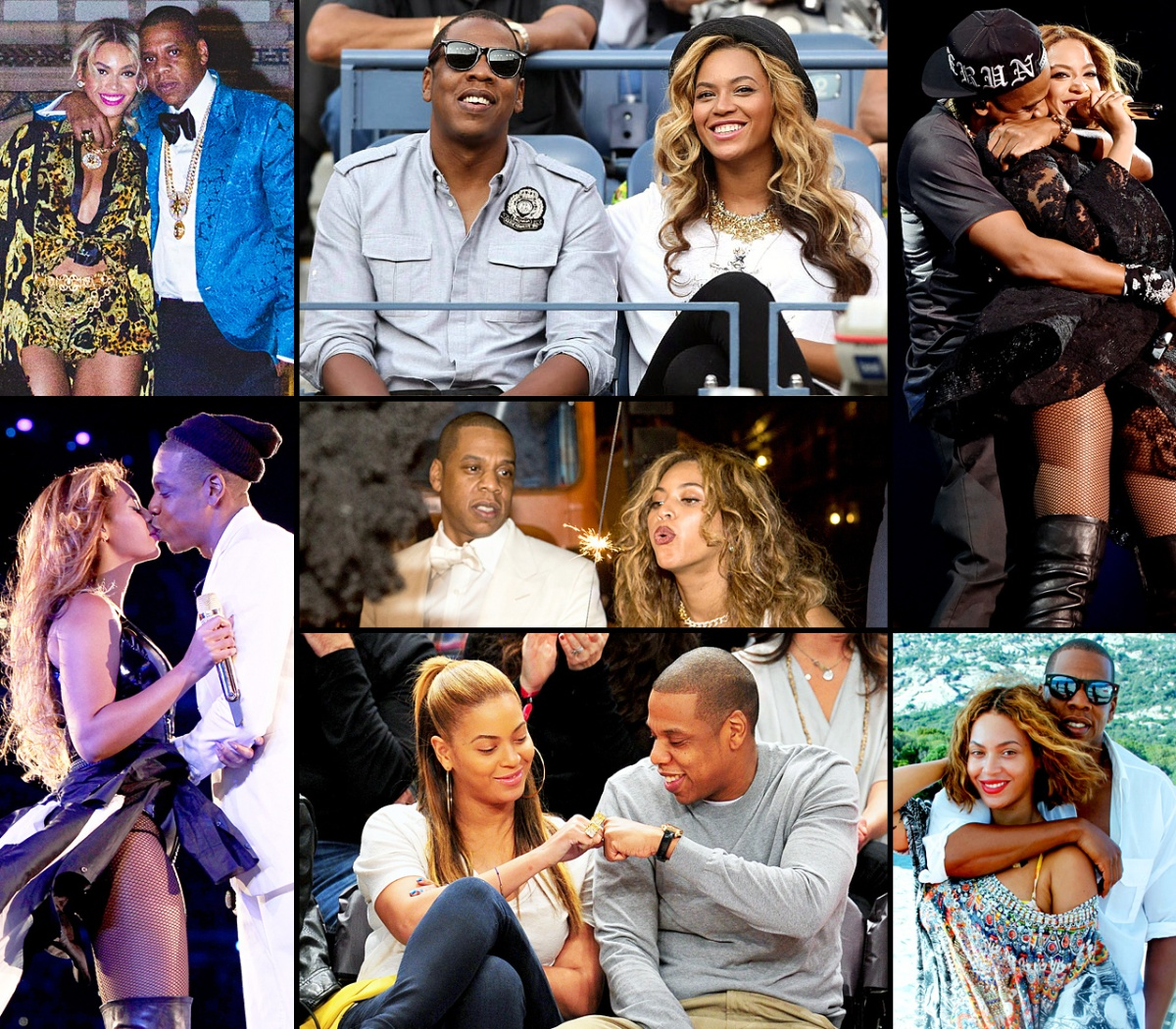 Beyonce and Jay-Z's Sexy Romance
