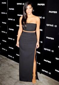 Kim Kardashian at Paper Magazine's Break The Internet issue party