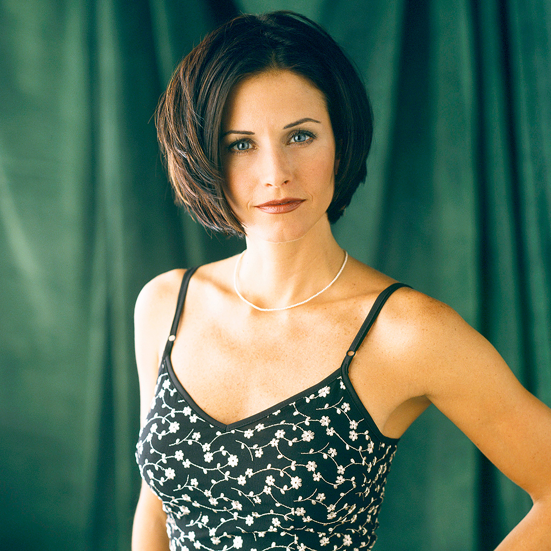In 2005, Cox — starring as Ross' sister, Monica Geller — and her female costars became the highest-paid TV actresses of all time, earning $1 million per episode for the ninth and tenth seasons of Friends .