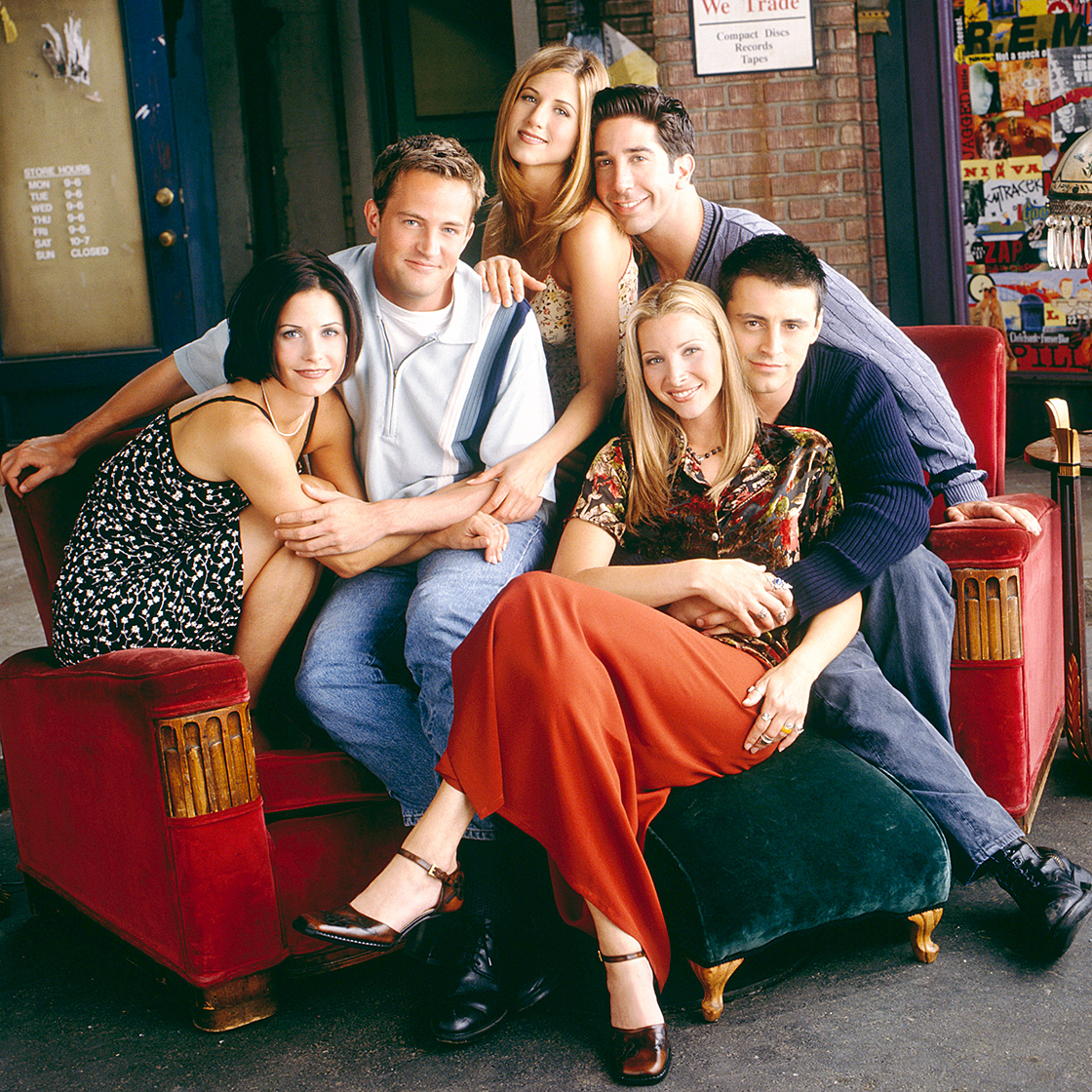 On September 22, 1994, TV audiences got six new pals with the cast of the hit NBC series Friends . Now, decades later, we've watched Jennifer Aniston (Rachel Green), Courteney Cox (Monica Geller), Lisa Kudrow (Phoebe Buffay), Matt LeBlanc (Joey Tribbiani), Matthew Perry (Chandler Bing) and David Schwimmer (Ross Geller) take on numerous other roles and even hit the big screen.