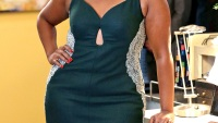 Mindy Kaling at the office Christmas party in 'The Mindy Project'
