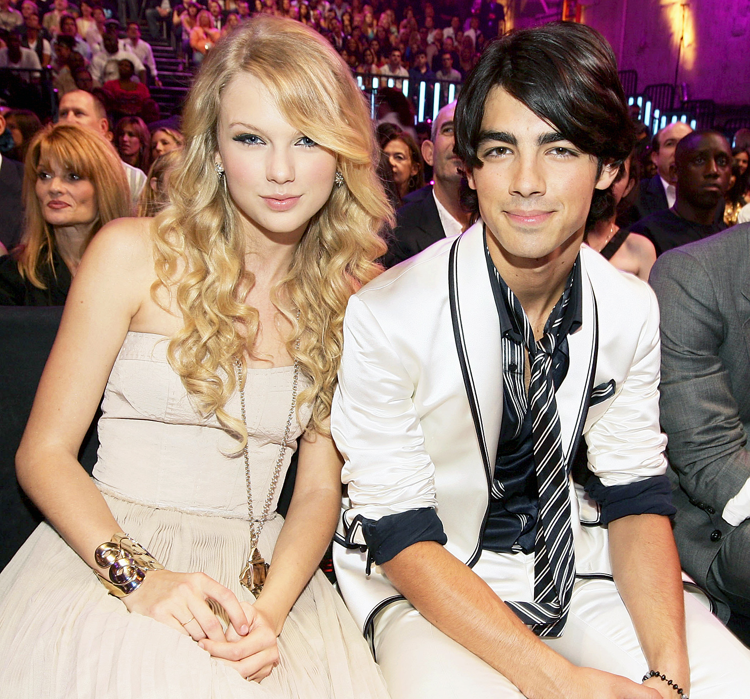 """The Disney heartthrob ended their relationship in a 27-second phone call in October 2008. """"That's got to be a record,"""" Swift told Ellen DeGeneres ."""