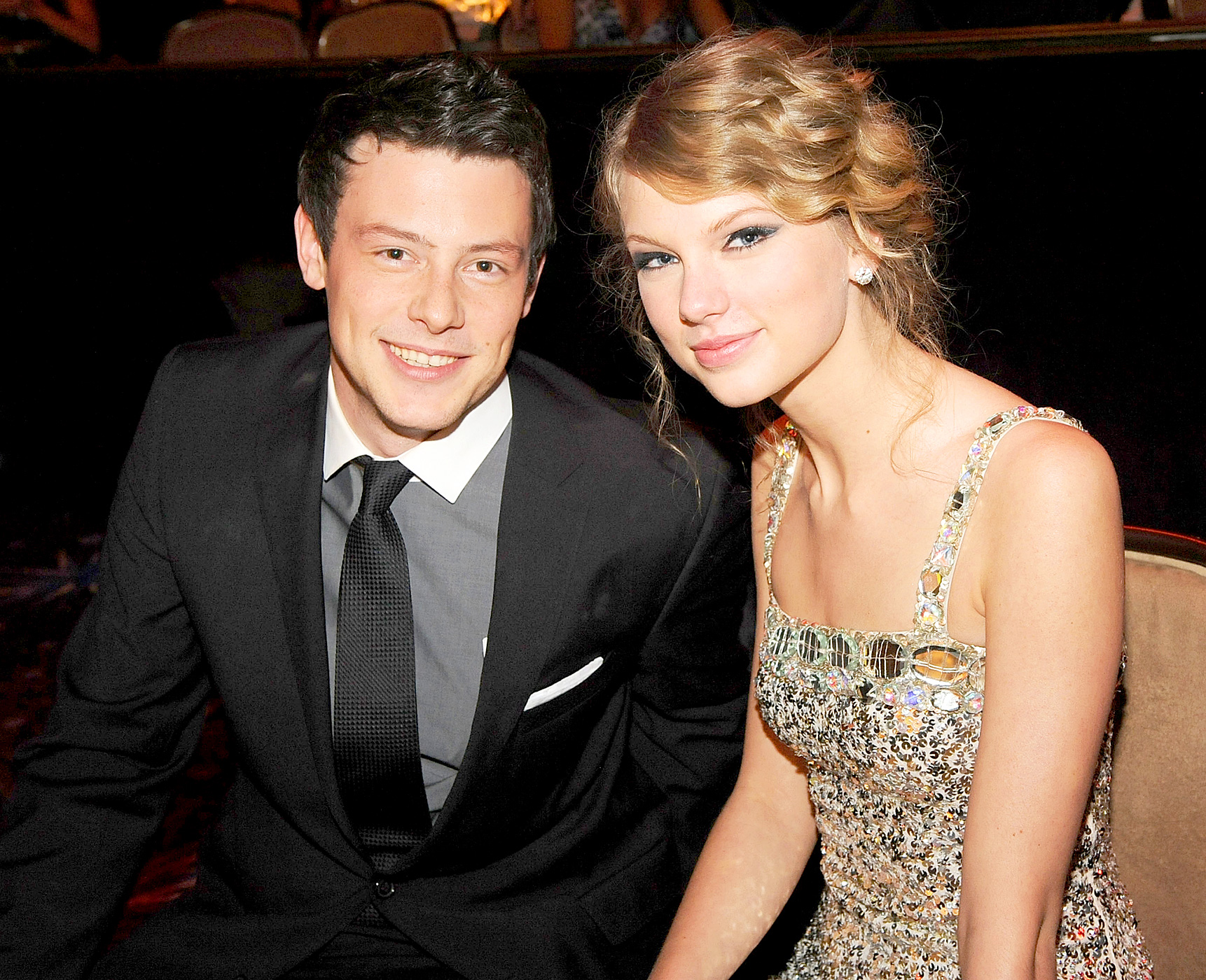 Swift was spotted hanging with the Glee star — who once told Us that she was his celebrity crush — at Pinz Bowling Alley in March 2010. The two also spent time together at a January Grammy party and shared a late-night dinner in February 2011.