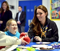 Kate Middleton at the 23rd Poplar Beaver Scout Colony on Dec. 16.
