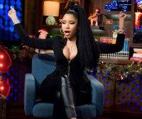 Nicki Minaj suffered yet another nip slip during WWHL last night