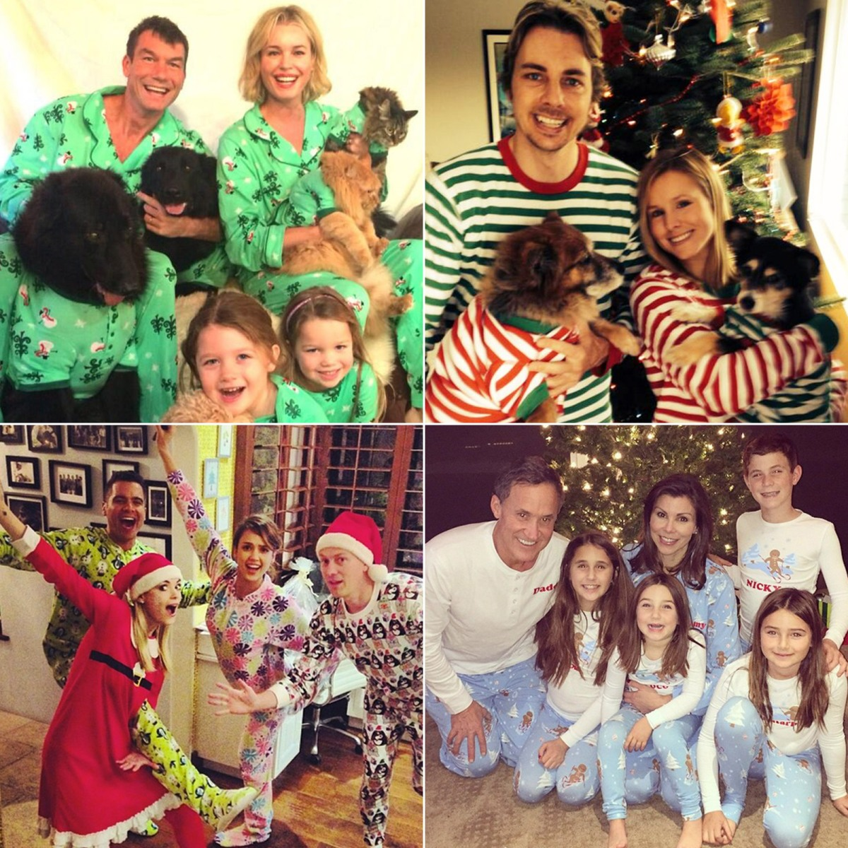 Celebrities Wearing Christmas Pajamas! - Us Weekly