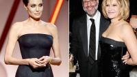 Angelina Jolie, Scott Rudin and Amy Pascal