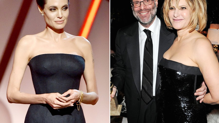 Angelina Jolie, Scott Rudin and Amy Pascal