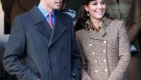 Pregnant Kate Middleton apologized for not bringing baby Prince George