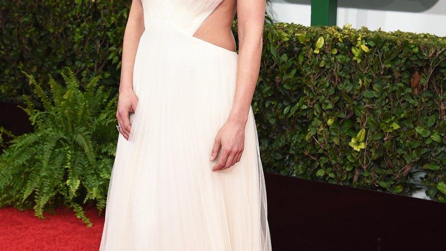 Rosamund Pike at the 2015 Golden Globes