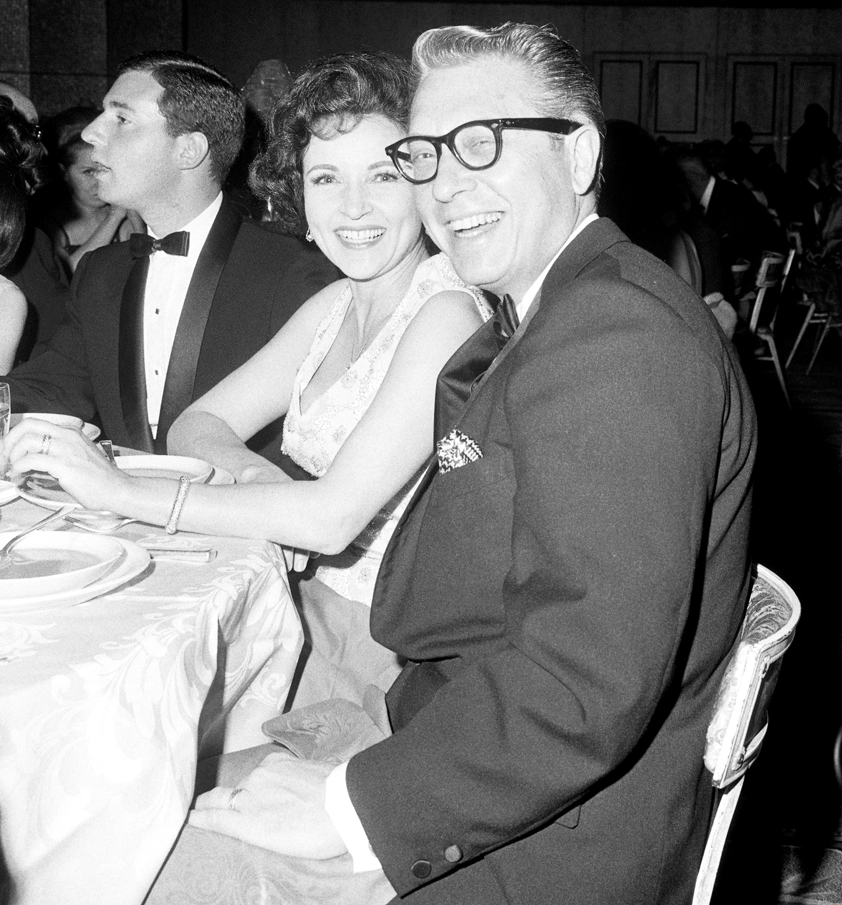 In 1963, White married TV personality Allen Ludden, who was her third husband. Prior to their union, she had been married to Army pilot Dick Barker and Hollywood agent Lane Allen.