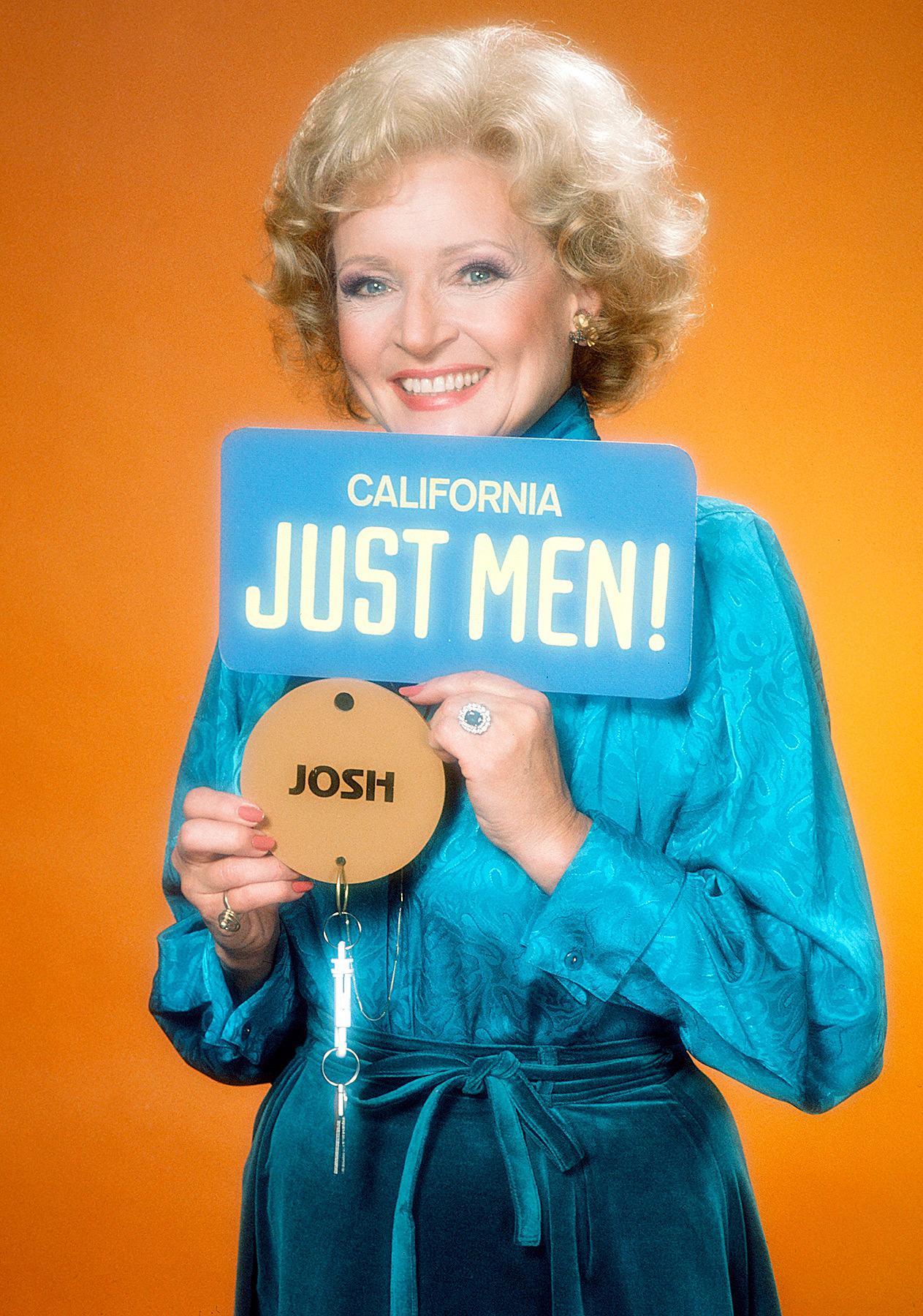 "White made history in 1983, becoming the first woman to win a Daytime Emmy Award in the category of Outstanding Game Show Host for NBC's Just Men! She went on to be named the ""First Lady of Game Shows."""