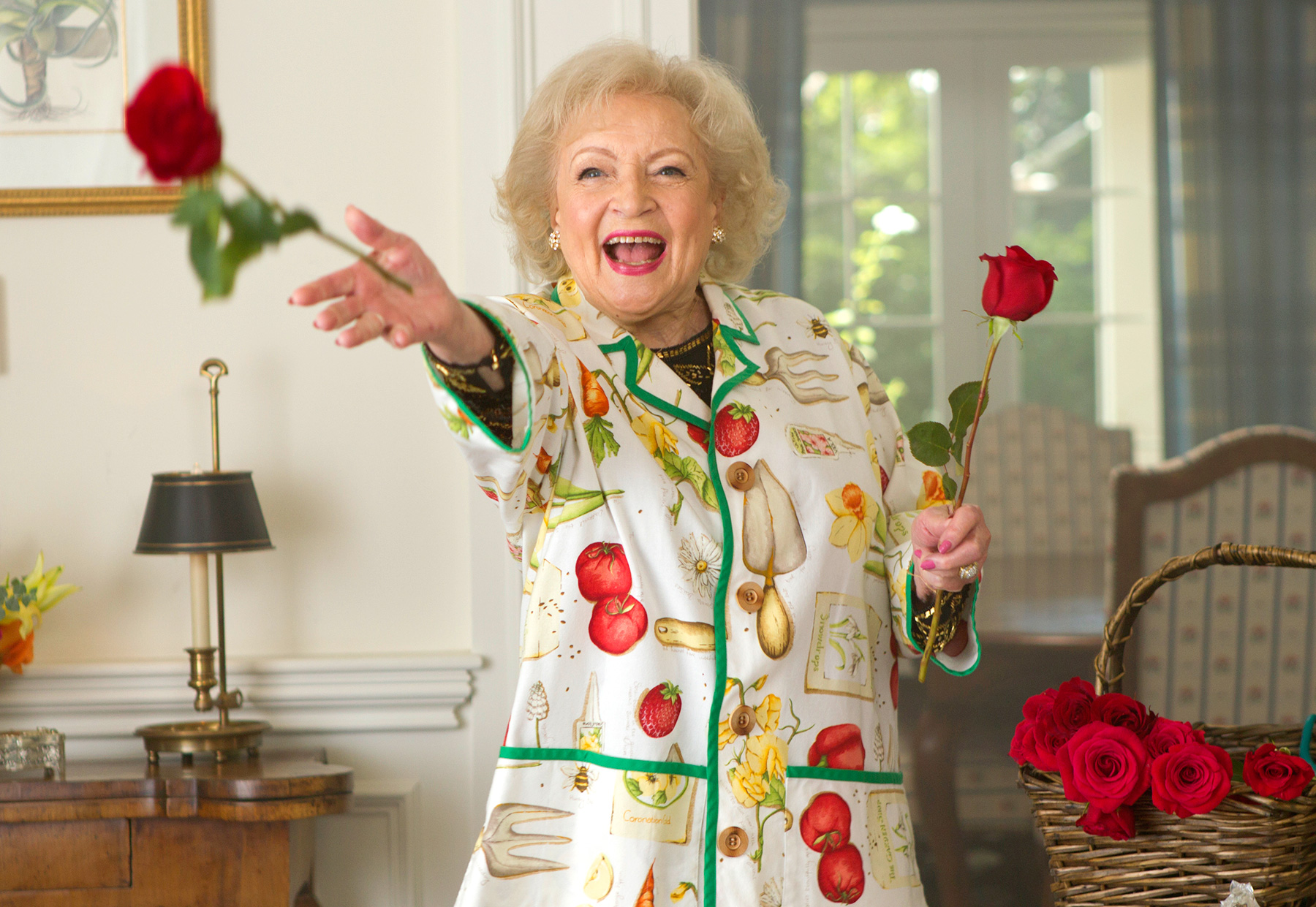 At age 89, White hosted and executive produced her prank show, Betty White's Off Their Rockers , in which senior citizens pranked youngsters. It was nominated for three primetime Emmys.