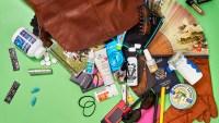 Stevie Nicks, 66 spills her carryall for Us