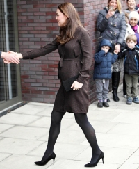 Kate Middleton arrives at The Fostering Network in Islington