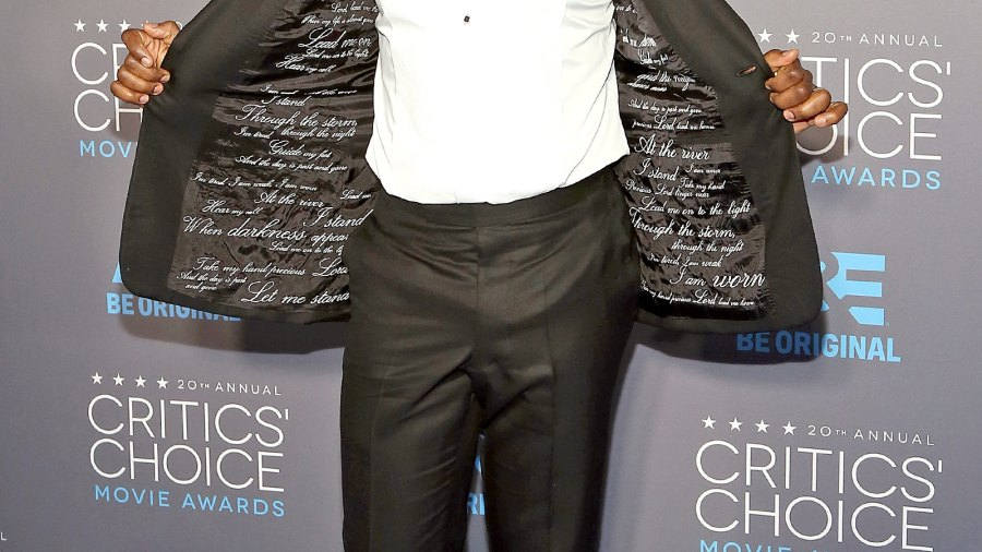 David Oyelowo at The 20th Annual Critics' Choice Movie Awards.