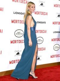 "Gwyneth Paltrow at the L.A. premiere Of ""Mortdecai"" on Jan. 21, 2015."