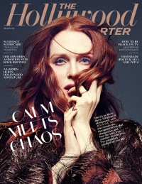 Julianne Moore on The Hollywood Reporter Cover