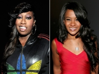 Missy Elliot and Bobbi Kristina Brown