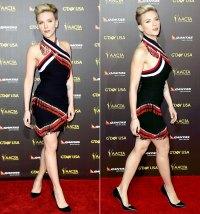 Scarlett Johansson at the 2015 G'Day USA Gala on January 31, 2015.