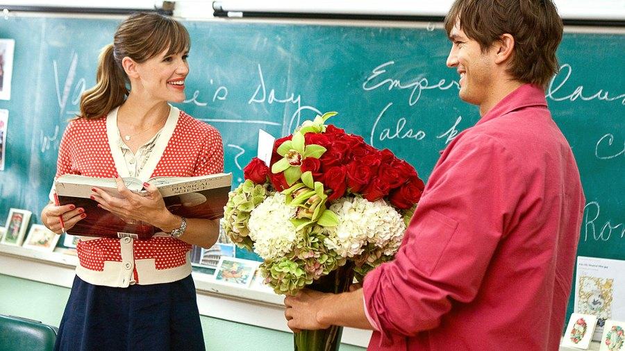 Jennifer Garner and Ashton Kutcher in Valentine's Day.