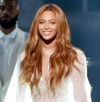 Beyonce Knowles performs onstage at The 57th Annual GRAMMY Awards