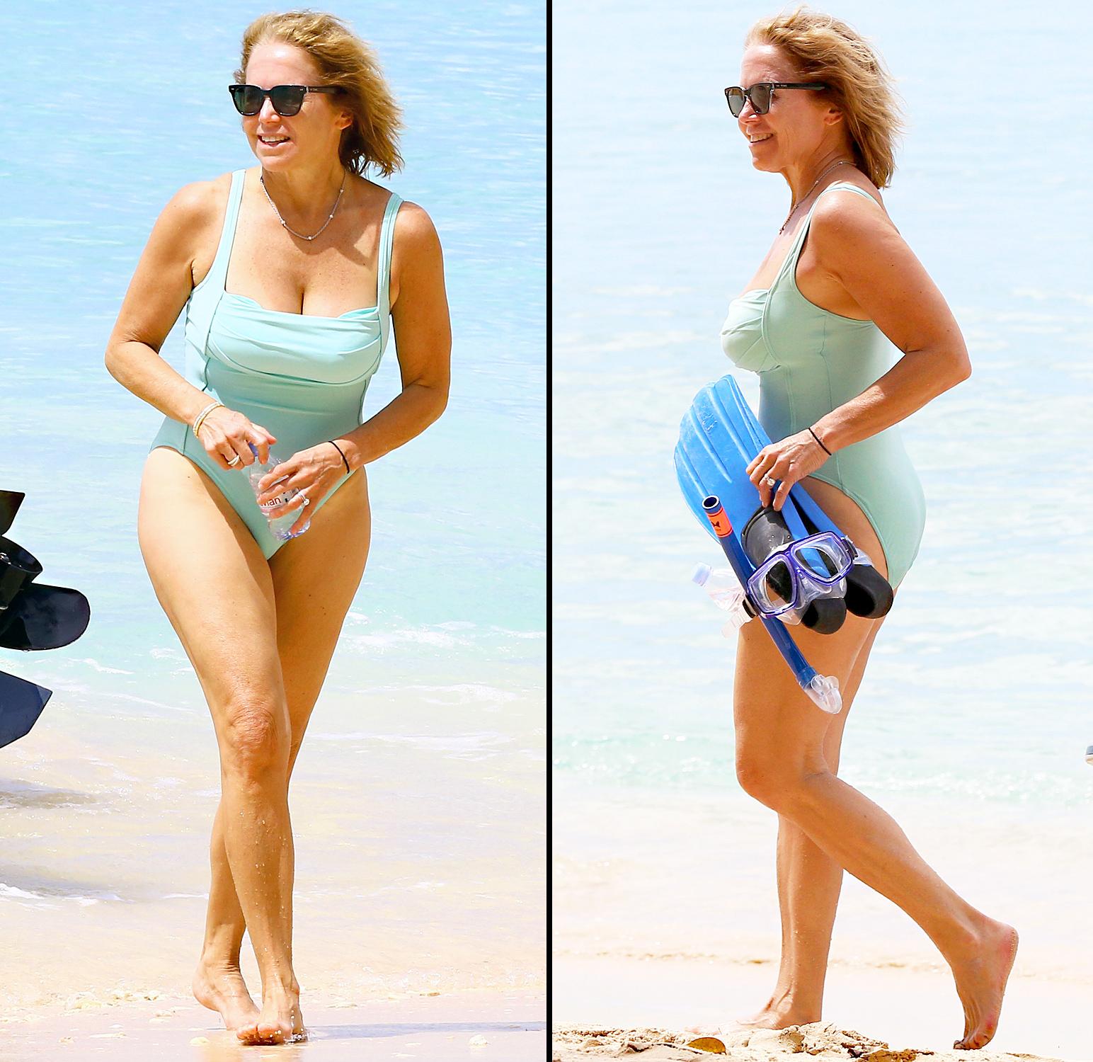 Katie kouric in bikini