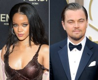 Rihanna and Leonardo dicaprio