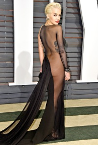Rita Ora attends the 2015 Vanity Fair Oscar Party on February 22, 2015